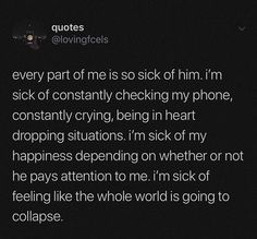 heartbroken quotes Tag your friends - - - - quotes Feeling Broken Quotes, Deep Thought Quotes, Quotes Deep Feelings, Hurt Quotes, Real Talk Quotes, Mood Quotes, Unhappy Quotes, Sadness Quotes, Quotes Quotes
