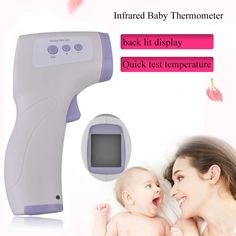 11.36$  Buy now - http://aliizs.shopchina.info/go.php?t=32756530411 - New Professional Digital LCD Infrared Baby Thermometer Non Contact Temperature Measurement Diagnostic Tool Device DM-300 11.36$ #magazineonlinebeautiful