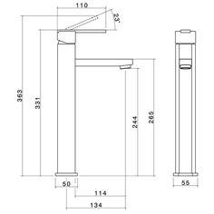 Saracom Tower Basin Mixer_LD