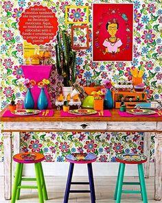 Casinha colorida: Série Ohhh La La da Semana