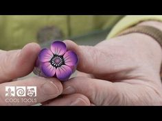 """Polymer clay: Millefiori cane """"The Rose"""" - ENG Series - YouTube"""