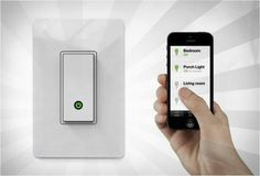 WEMO LIGHT SWITCH...remote control all your lights/fans with your iphone