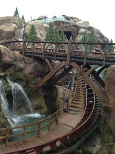 Seven Dwarfs Mine Train Coaster @ Walt Disney World. I cannot wait to ride this! Walt Disney World Vacations, Disney Cruise, Disney Parks, Disney Rides, Disney Love, Disney Nerd, Disney Stuff, Seven Dwarfs Mine Train, Disney World Magic Kingdom