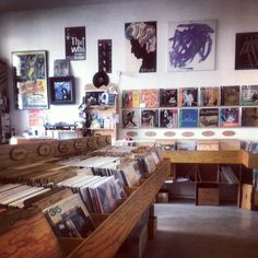 Record Store in Mitte, Berlin