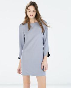Image 3 of ROUND-NECKED DRESS from Zara
