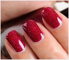 Zoya Blaze Nail Lacquer. How awesome is the addition of that holo shimmer?