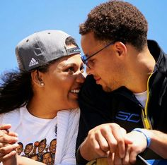 Like what you see⁉ Follow me on Pinterest ✨: @joyceejoseph ~   Ayesha & Stephen Curry #GoldenState #Wariors #DubNation