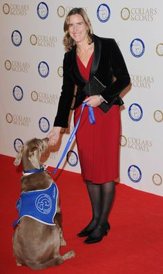 Katherine Grainger attends the annual Collars and Coats gala ball in aid of Battersea Dogs & Cats home at Battersea Evolution on November 7,...