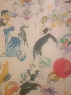 Princess Diana Wallpaper, Kensington Palace, London