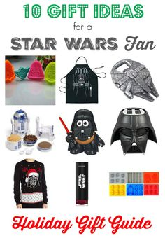 Surprise the Star Wars fan in your life with any of these 10 frugal holiday gifts ideas. These make a perfect present for Star Wars Day too!