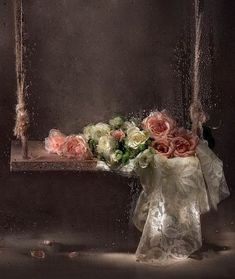 Painted Roses...