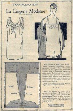 Le Petit Écho de la Mode - 3 juillet 1927 Barbie Patterns, Costume Patterns, Vintage Sewing Patterns, Clothing Patterns, Diy Couture Mode, Sewing Clothes, Diy Clothes, Journal Vintage, Diy Crafts Vintage