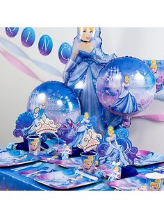 Cinderella birthday party theme.
