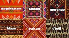 Article: Indigenous Philippine Fabrics Are Making a Comeback - Know our traditional woven fabrics, so you don't accidentally wear a sacred death blanket Filipino Art, Filipino Tribal, Filipino Culture, Philippine Mythology, Philippine Art, Filipino Fashion, Philippines Culture, Plastic Art, Tribal Patterns