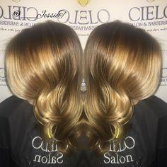 Seamless flawless blonde Balayage