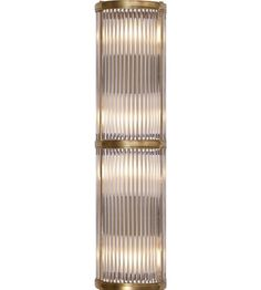 Visual Comfort RL2085NB Ralph Lauren Allen Medium Linear Sconce In Natural Brass…