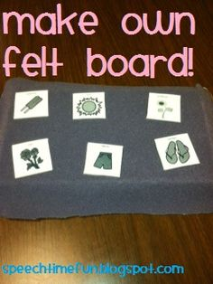 No feltboard, no worries!  -  Pinned by @PediaStaff – Please Visit http://ht.ly/63sNt for all our pediatric therapy pins