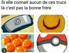 Naruto ,one piece ,dragon ball ,pokemon. Manga Anime, Old Anime, Dragon Ball, Overwatch, Crazy Meme, Funny French, French Meme, Otaku Meme, Anime Merchandise