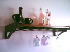 bar stemware racks | ... about **21 Wine Glass Stemware Rack Wooden Wine Bottle Rack Holder