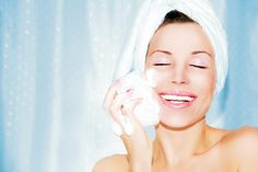 Learn how to take care of your oily skin with our skin care tips. Find the best facial cleanser, moisturizer & skin care routine for oily skin to mattify shine. Skin Tips, Skin Care Tips, Exfoliating Face Scrub, The Face, Face Wrinkles, Face Scrub Homemade, Facial Cleansers, Oily Skin Care, Facial Scrubs