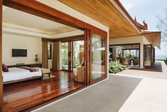 Koh Samui Holiday Villa #kohsamui #samui #thailand #asianluxuryvillas _____________________ This villa manages to successfully mix old and new influences with a combination of traditional styles authentic Thai ornaments natural materials and contemporarily designed furniture and accessories