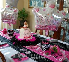 barbie princess party decor - Google Search