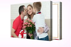 On May 14 it's Mother's Day!  Surprise your mother with a personalized gift, only you can design. Guaranteed Canvas Delivery in time for Mother's Day with Express Shipping. #canvas #canvasdiscount #canvasprints https://www.canvasdiscount.com