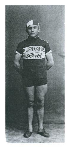 Joven Giuseppe Pancera, tomada en 1923.