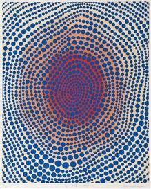 #YayoiKusama   Morning Sun   Marlborough Fine Art (IFPDA) http://www.printed-editions.com/artwork/yayoi-kusama-morning-sun-9409