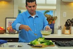 Caesar Salad with Homemade Croutons  recipe by Buddy Valastro