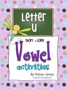 8 Short U and Long U Vowel Centers $