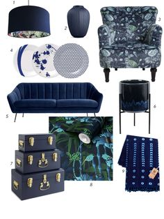 Interior designer and colour lover Sophie Robinson shows how to decorate with navy to create a calm and classic scheme Half Painted Walls, Sophie Robinson, Color Psychology, Wet Rooms, Hexagon Shape, Blue Tones, Pantone Color, Color Trends