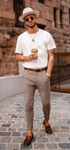 Summer Formal Outfits, Mens Fashion Summer Outfits, Stylish Summer Outfits, Casual Summer Outfits, Summer Smart Casual, Smart Casual Menswear Summer, Men Fashion, Men's Summer Clothes, Man Style Summer