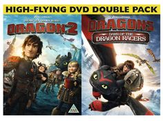 How to Train Your Dragon 2 High Flying DVD Double Pack with the 25 minute movie of The Dawn of Dragon Racers. Can't wait to get it when it comes out!