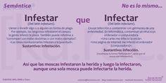 Karacteres: Infestar e infectar.