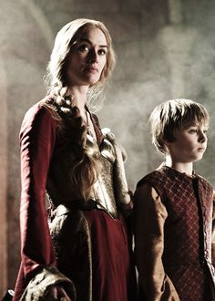 Game of Thrones: Cersei Lannister and Tommen Baratheon