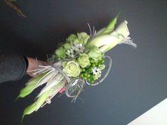 bruidsboeket - wit lange assymmetrie falenopsis boechout