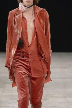 """monsieurcouture: """"Ann Demeulemeester S/S 2018 Menswear Paris Fashion Week """""""