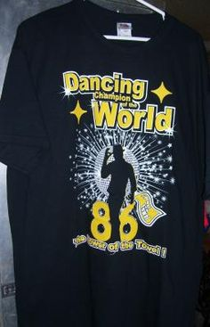 Dancing With The Stars Hines Ward NEW XL NFL FOOTBALL PITTSBURGH STEELERS #TEAMSELLIT#