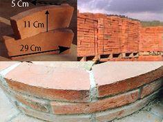 ESP Picholín pozo, #ladrillo de #cerámica rústica ideal para construir pozos u otro tipo de #construcción. #arquitectura  CAT Pitxolí pou, #Totxo de #ceràmica rústica ideal per construir pous o un altre tipus de #construcció. #arquitectura
