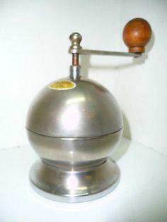 Italian Tre Spade Mod. Depositato Atomic Espresso Pepper Coffee Grinder Mill