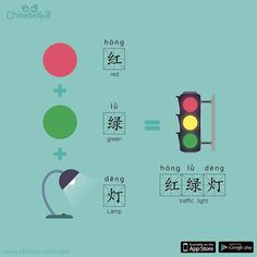 """Red Green Lamp"" #TodaysChinese"