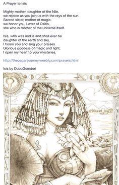 Tarot Isis by DubuGomdori on DeviantArt Ancient Goddesses, Egyptian Mythology, Egyptian Symbols, Gods And Goddesses, Isis Goddess, Egyptian Goddess, Divine Goddess, Wicca Witchcraft, Wiccan