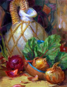 Julie Ford Oliver: First Onion Painting