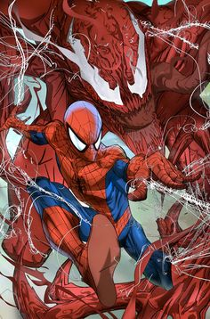Spider-Man Vs. Carnage by Eric Nguyen