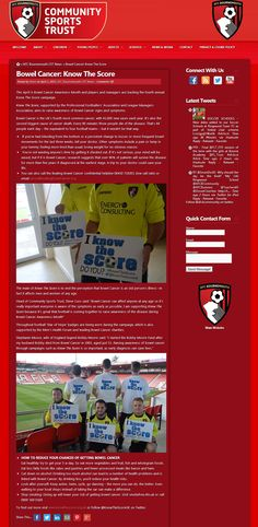 AFC Bournemouth Community Sports Trust - 31 March 2015
