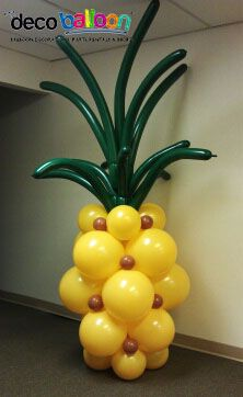Piña con globos - Pineapple Balloon