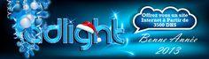 ADLIGHT - Vous présente ses meilleurs voeux pour cette année 2013