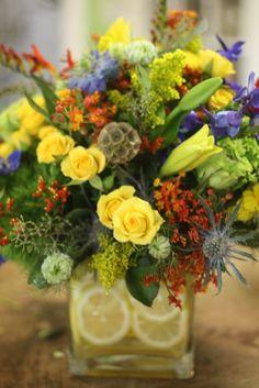 Great flower arrangements!