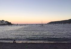 A trip to Cadaques, Catalonia, Spain by Emma Eats & Explores - Sunset in Cadaques